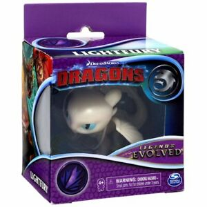 How to Train Your Dragon Legends Evolved 2 Inch Deadly Lightfury Figure