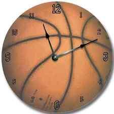 SPORTS Clock Personalized Nursery Wall Art Clock - BASKETBALL_FT
