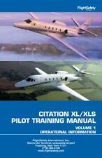 CESSNA CITATION XL/XLS PILOT TRAINING MANUAL