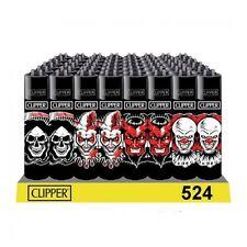 4 ACCENDINI CLIPPER SCARY MOVIE CLOWN Da Collezione Ricaricabili Pietrina Gas