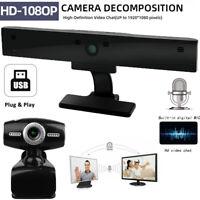Full HD 1080P Auto Focusing PC Webcam Camera Digital Web Camera Mic For Laptop