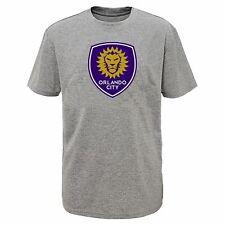 MLS Orlando City SC Boys Shirt, Gray - Size XL