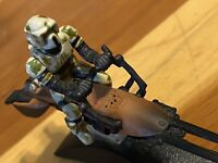 Star Wars Titanium Series Kashyyyk Trooper Speeder Bike (First Run) Loose