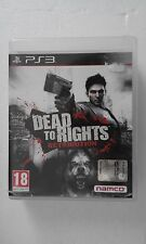 PS3 SONY PLAYSTATION 3 DEAD TO RIGHTS : RETRIBUTION - NAMCO -