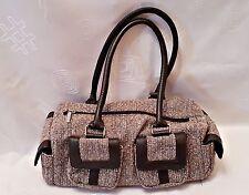 VINTAGE AUTHENTIC CERRUTI PARFUMS WOOL BLEND WOMEN'S HAND BAG