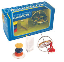 """Tedco Discovery Pak/Gyroscope,Prism,Magnets Made in USA - 0 1200 7.5"""" x 3"""" x 4"""""""