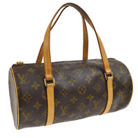 LOUIS VUITTON PAPILLON 26 HAND BAG SP0092 PURSE MONOGRAM CANVAS M51386 A46531d