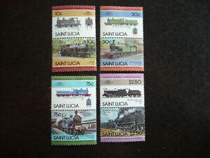 Stamps - Saint Lucia - Scott# 774-777