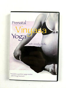Prenatal Vinyasa Yoga with Jennifer Wolfe DVD Pregnancy