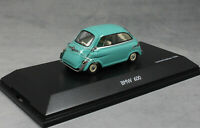 Schuco BMW 600 Microcar in Turquoise 1957 450235500 1/43 NEW Ltd Ed 1000