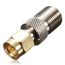 F Prise Jack Femelle pour mâle SMA Droites RF Coaxial Adaptateur Connecteur
