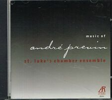 CD album: music of André Prévin: st. Luke's chamber ensemble. arabesque. C5
