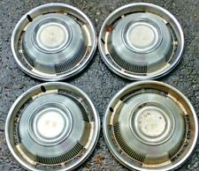 1967 Chevy Chevrolet Caprice hubcaps wheel covers Police Car 5 OEM Hub Caps