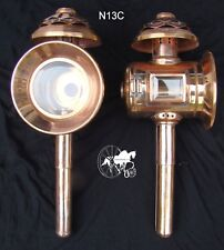 Horse Carriage Lamps Styles  N12   N13   NEW N13C Limited Edition Copper Sheet