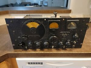 RARE Vintage Hallicrafters S-27 Ultra High Frequency Receiver 27- UNTESTED