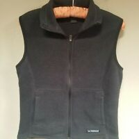 REI Co-op Women's Fleece Athletic Hiking Full Zip Woodland Vest Gray Size Small.