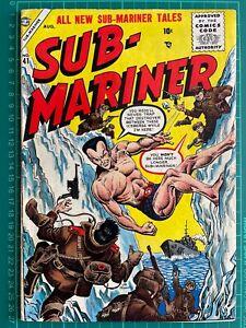 Sub-Mariner Comics #41 Atlas Comics! Stan Lee Bill Everett!