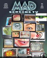 MAD MAGAZINE #12 APRIL 2020 Boob Tube Mash-Up + RuPaul's Drag Race & more.....