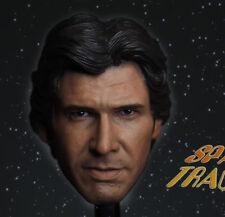 Head Sculpt For Hot Toy Figure Body Custom 1/6 Scale Harrison Ford Han Solo Head