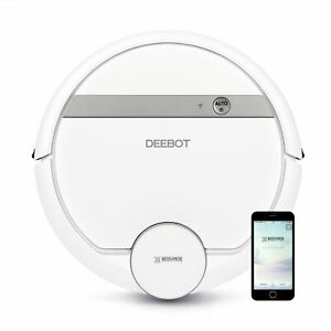 ECOVACS DEEBOT 900 Smart Robotic Vacuum for Carpet, Bare Floors, Pet Hair, with