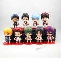 Kuroko no Basuke set of 9pcs PVC figures toy anime figure Toy 9pcs/set