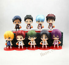 Anime Kuroko no Basuke Kuroko's Basket Basketball 9pcs Figures set Toy Gift