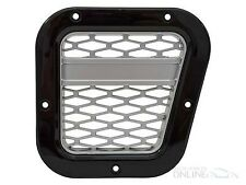 LAND ROVER DEFENDER - XS AIR INTAKE GRILLE BLACK WITH SILVER MESH (RH) - DA1970