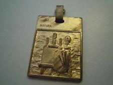 """MEDAGLIA """" 14a MOSTRA DI PITTURA """" PIETRA LIGURE 1977 - VINTAGE (SOA-2/2)"""
