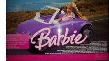 Barbie Convertible Roadster Cabriolet Vehicle ( Doll not Included ) Mattel 20...