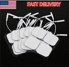 20PCS White Replacement Tens ELECTRODE PADS Message Electrode Tens Units 4*4cm