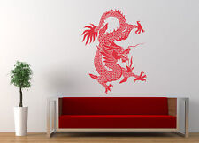 ced7 Wall decal Sticker dragon east China bedroom living room