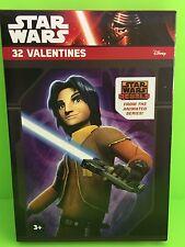 Disney Star Wars Rebels 32 Valentine Day Cards New