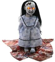 32-in Gothic Talking LIL SWEET VENGEANCE Haunted House Girl Doll Halloween Prop