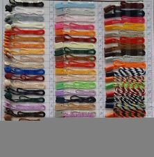 1000 Pcs Hang Tag Nylon String  rectangle/Fastener hang tags strings ,rope