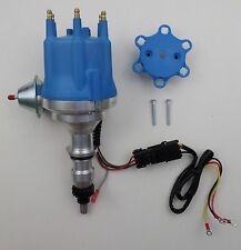 small cap 65-86 FORD 240 300 INLINE 6 Cylinder PRO SERIES Blue HEI Distributor