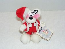 Thomas Goletz  Germany DIDDL Mouse Hard Rubber Poseable Santa Suit With Tag EUC