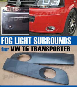 NEW VW VOLKSWAGEN T5 TRANSPORTER FOG LIGHT SURROUNDING COVER GRILLE 2010 - 2014