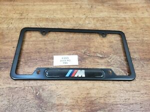 ✅ For BMW F80 F87 F82 M2 M3 M4 M License Plate Frames Cover USA Standard Black