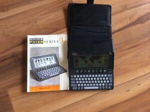 Psion Series 3a PDA Palmtop Computer Vintage Tech Organiser Document Office 512k