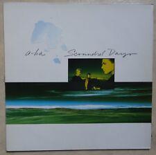 VINYLE 33 TOURS A-HA SCOUNDREL DAYS 9255011 WARNER 1986 LP INSERT