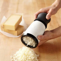 Cheese Mill Grinder Grater Slicer Shredder Fine Coarse Hand Useful Kitchen Tool
