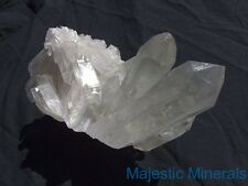 PHANTOMS___HUGE HIGH END DISPLAY CLUSTER___Clear Lemurian Seed Quartz Crystal
