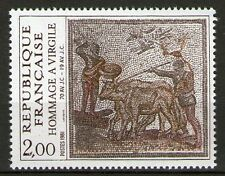 SERIE TIMBRES 2174 NEUF XX LUXE - HOMMAGE A VIRGILE - MOSAIQUE DU 2 EME SIECLE