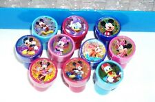 20 pcs Disney Mickey Minnie Mouse Self Inking Stamper Pencil topper Party Favor
