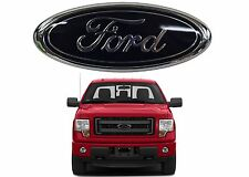 """9"""" Black Front Grill Emblem For 2004-2015 Ford F150 05-07 F250 New Free Shipping"""