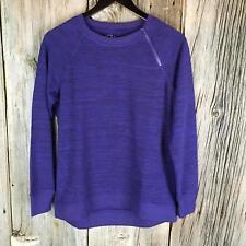 Gerry Journey Women's Assymmetrical Zip Neck Long Sleeve Shirt Size S/P 62A11