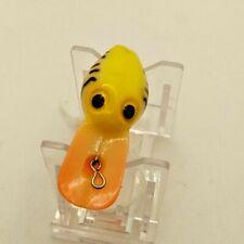 Wiggle Wart Vintage Orange/Yellow/White/ Black (Wee Wart) -Rare-Hard To Find.