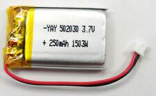 808 #16 Car Key Chain Micro Camera 3.7v 250Mah Replacement Battery