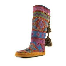 """Med 1 3/4"""" to 2 3/4"""" Women's Multi-Colored Boots"""