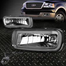 FOR 04-06 FORD F150 LINCOLN MARK LT SMOKED LENS BUMPER FOG LIGHT LAMPS W/SWITCH